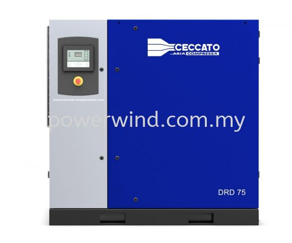 DRD 75-100 Oil-Injected Screw Compressors (Fixed&Variable Speed) Ceccato Air Compressor Malaysia, Penang, Bukit Mertajam Supplier, Supply, Distributor, Installation | Power Wind Engineering Sdn Bhd