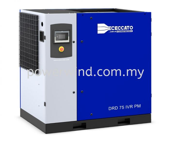 DRD 60-100 IVR PM Oil-Injected Screw Compressors (Variable Speed) Ceccato Air Compressor Malaysia, Penang, Bukit Mertajam Supplier, Supply, Distributor, Installation | Power Wind Engineering Sdn Bhd
