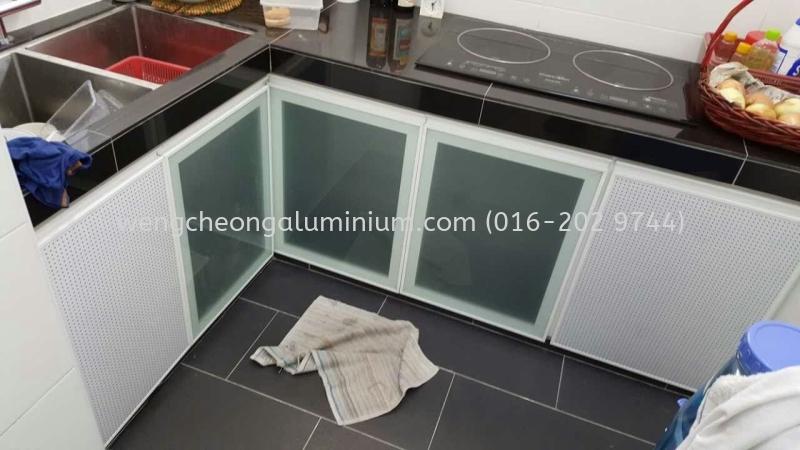 Cabinet Glass Door (Frosted Sticker) Kitchen Cabinet Door Sungai Buloh, Selangor, Malaysia. Manufacturer, Supplies, Suppliers, Supply | Weng Cheong Aluminium & Glass