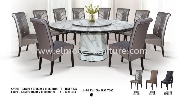 Marble Set Dining Set Selangor, Kuala Lumpur (KL), Puchong, Malaysia Supplier, Suppliers, Supply, Supplies | Elmod Online Sdn Bhd