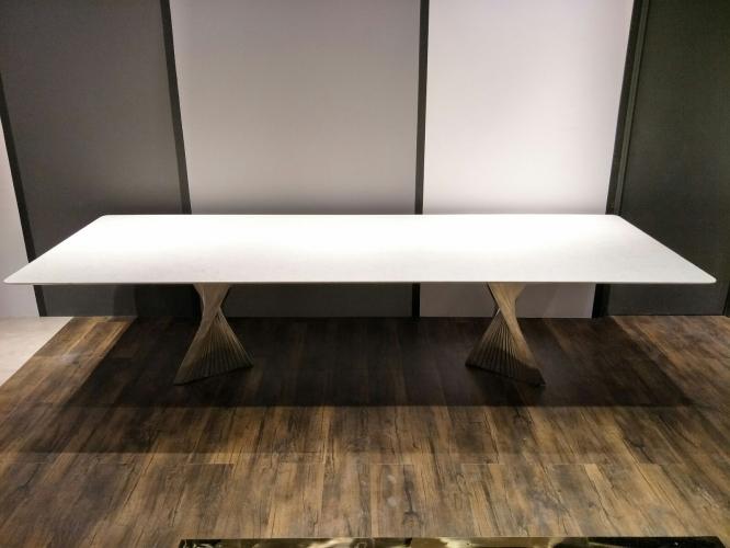 12 Seater Modern Dining Table | Pearl Jasmine