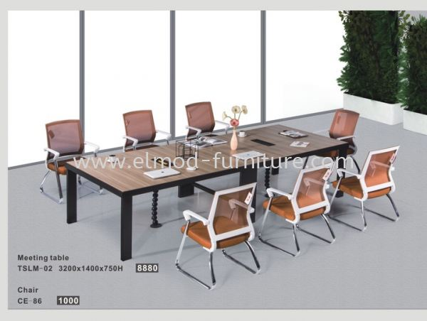 TSLM-02 Conference Table / Meeting Table Selangor, Kuala Lumpur (KL), Puchong, Malaysia Supplier, Suppliers, Supply, Supplies | Elmod Online Sdn Bhd