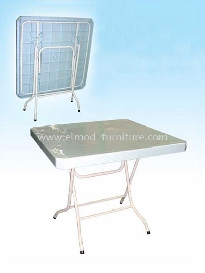 3 Ft x 3 Ft Square Foldable Plastic Table Plastic Table Table Selangor, Kuala Lumpur (KL), Puchong, Malaysia Supplier, Suppliers, Supply, Supplies | Elmod Online Sdn Bhd