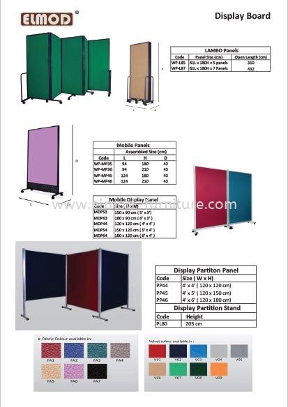 White Board / Display Board Selangor, Kuala Lumpur (KL), Puchong, Malaysia Supplier, Suppliers, Supply, Supplies | Elmod Online Sdn Bhd