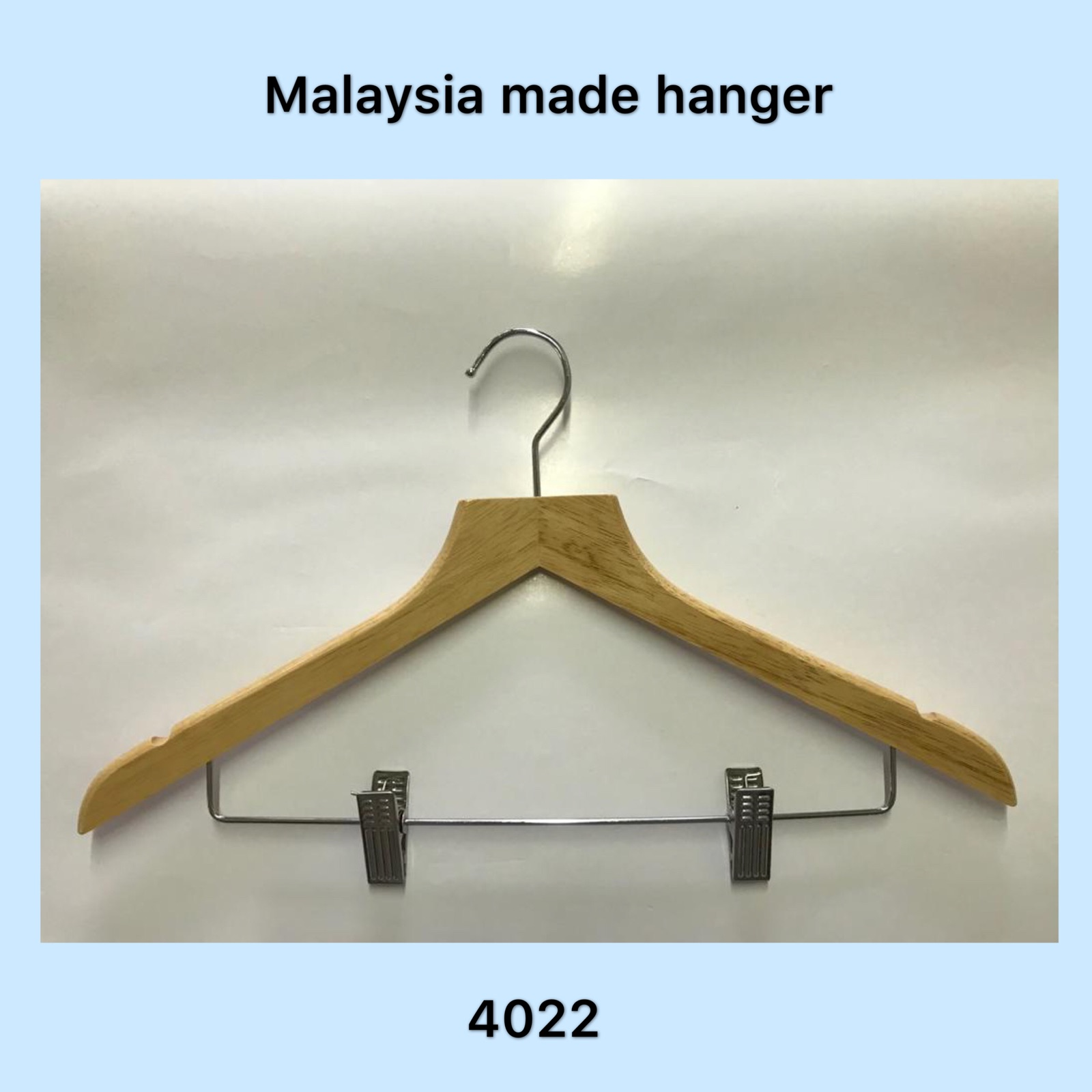 Model: AT3022 Hanger With Clip