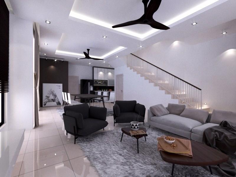 Interior Design Klang Interior Design Contractor Klang 3D Design Drawing     HomeBagus - Home and Deco ONLINE EXPO!