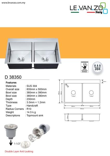 Single Water Sink (D 38350) Topmount Water Sink Water Sink Selangor, Malaysia, Kuala Lumpur (KL), Shah Alam, Hulu Langat, Petaling Jaya (PJ) Supplier, Suppliers, Supply, Supplies | Mun Heng Electrical & Hardware Supply