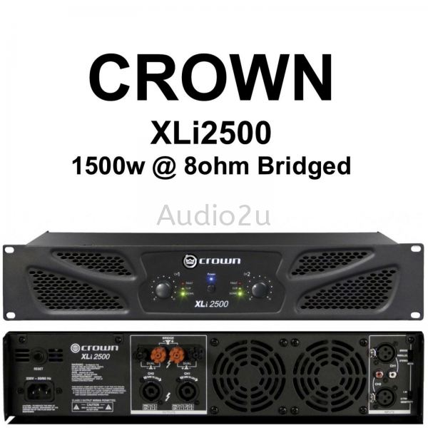 Crown Power Amplifier Crown Power Amplifier Pro Sound PA System Penang, Malaysia, Georgetown Supplier, Suppliers, Supply, Supplies | Dragonfly Audio Centre