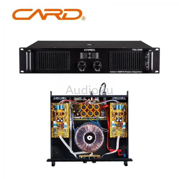 CARD PA-2008 Power Amplifier CARD Power Amplifier Pro Sound PA System Penang, Malaysia, Georgetown Supplier, Suppliers, Supply, Supplies | Dragonfly Audio Centre