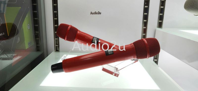 Audio2u Red Chili Limited Edition Mic Audio2u Wireless Microphone Penang, Malaysia, Georgetown Supplier, Suppliers, Supply, Supplies | Dragonfly Audio Centre
