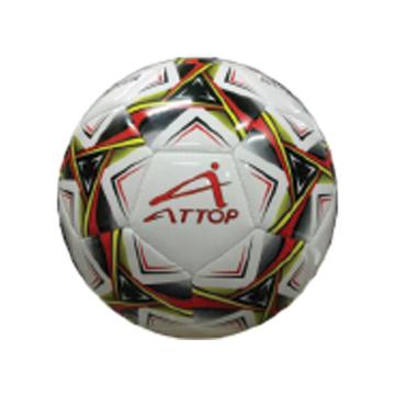 ATTOP SOCCER BALL AT28 WHITE/RED Soccer Ball Soccer Kuala Lumpur (KL), Malaysia, Selangor, Pandan Indah Manufacturer, Supplier, Supply, Supplies   Azzurri Enterprise Sdn Bhd