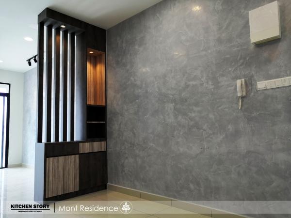 Living Area Custom Made Partition Divider Penang, Malaysia, Bayan Lepas Kitchen, Design   Kitchen Story Sdn Bhd