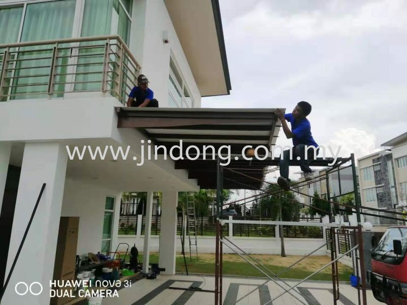 Awning ужеО Johor Bahru (JB), Malaysia, Ulu Tiram Supplier, Suppliers, Supply, Supplies   Jin Dong Invisible Grille & Jin Dong Steel Works (M) Sdn Bhd