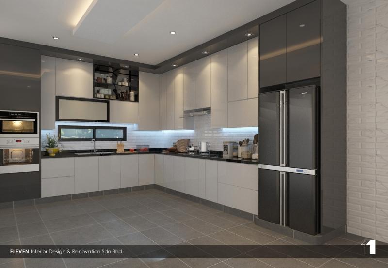 Wet Kitchen Design Kitchen Design Johor Bahru, JB, Kulai, Johor. Service, Design, Renovation | Eleven Interior Design & Renovation Sdn Bhd