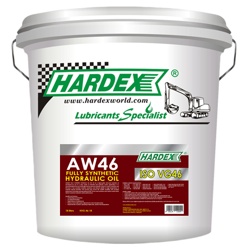Hydraulic VG 46 FULLY SYNTHETIC HYDRAULIC OIL LUBRICANT PRODUCTS Pahang, Malaysia, Kuantan Manufacturer, Supplier, Distributor, Supply   Hardex Corporation Sdn Bhd