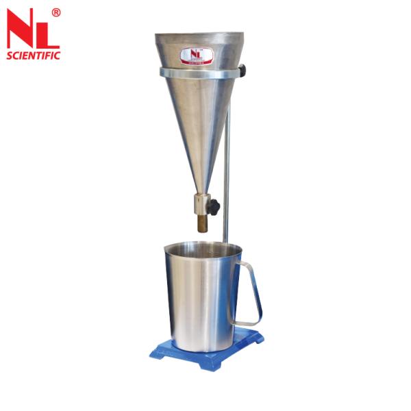 Flow Cone Apparatus (EN) - NL 3004 X / 001 Cement & Mortar Testing Equipments Malaysia, Selangor, Kuala Lumpur (KL), Klang Manufacturer, Supplier, Supply, Supplies | NL Scientific Instruments Sdn Bhd
