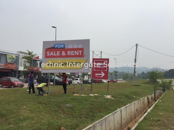 Billboard  Billboard & Giant Banner Kuala Lumpur (KL), Malaysia, Selangor, Mont Kiara Manufacturer, Supplier, Supply, Supplies | Intergate Solutions Sdn Bhd