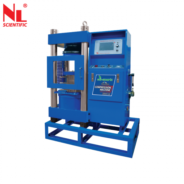 Eco Smartz Automatic Touch Screen Compression Machine 3000kN - NL 4000 X / 018A Concrete Testing Equipments Malaysia, Selangor, Kuala Lumpur (KL), Klang Manufacturer, Supplier, Supply, Supplies | NL Scientific Instruments Sdn Bhd