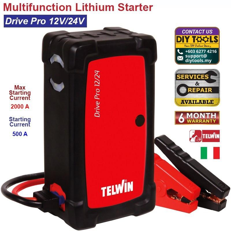 TELWIN Multifunction Lithium Starter-Drive Pro 12V/24V