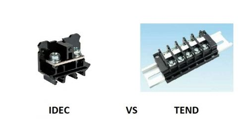 IDEC TERMINAL BLOCKS VS TEND TERMINAL BLOCKS - MALAYSIA