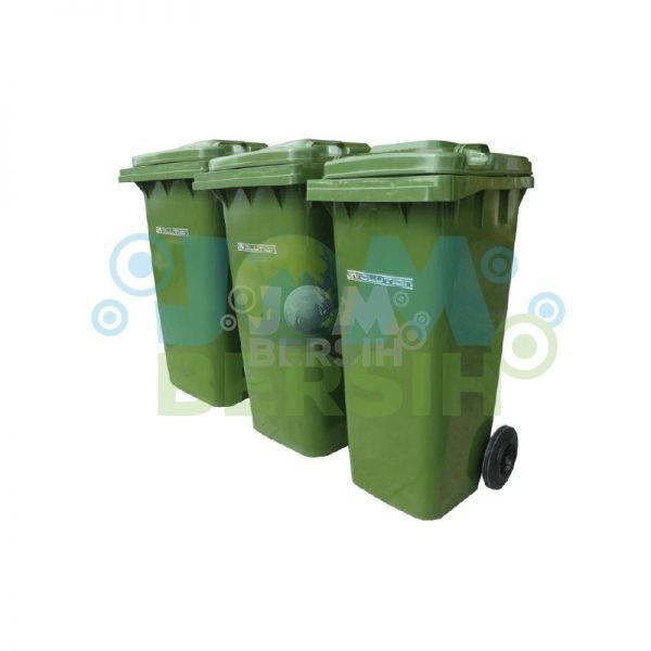 2 Wheel Waste Bin - Mobile Garbage Bin (Evolution) 240 liter Waste Bin General Cleaning Equipment Cleaning Equipment Selangor, Klang, Malaysia, Kuala Lumpur (KL) Supplier, Suppliers, Supply, Supplies | HH Plastech Industries Sdn Bhd