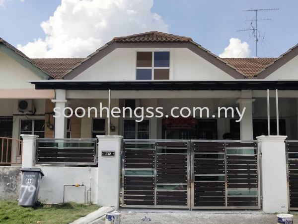 ALUMINIUM COMPOSITE PANEL AWNING METAL WORKS Johor Bahru (JB), Skudai, Malaysia Contractor, Manufacturer, Supplier, Supply | Soon Heng Stainless Steel & Renovation Works Sdn Bhd