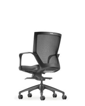 MAXIM LOW BACK CHAIR-FABRIC