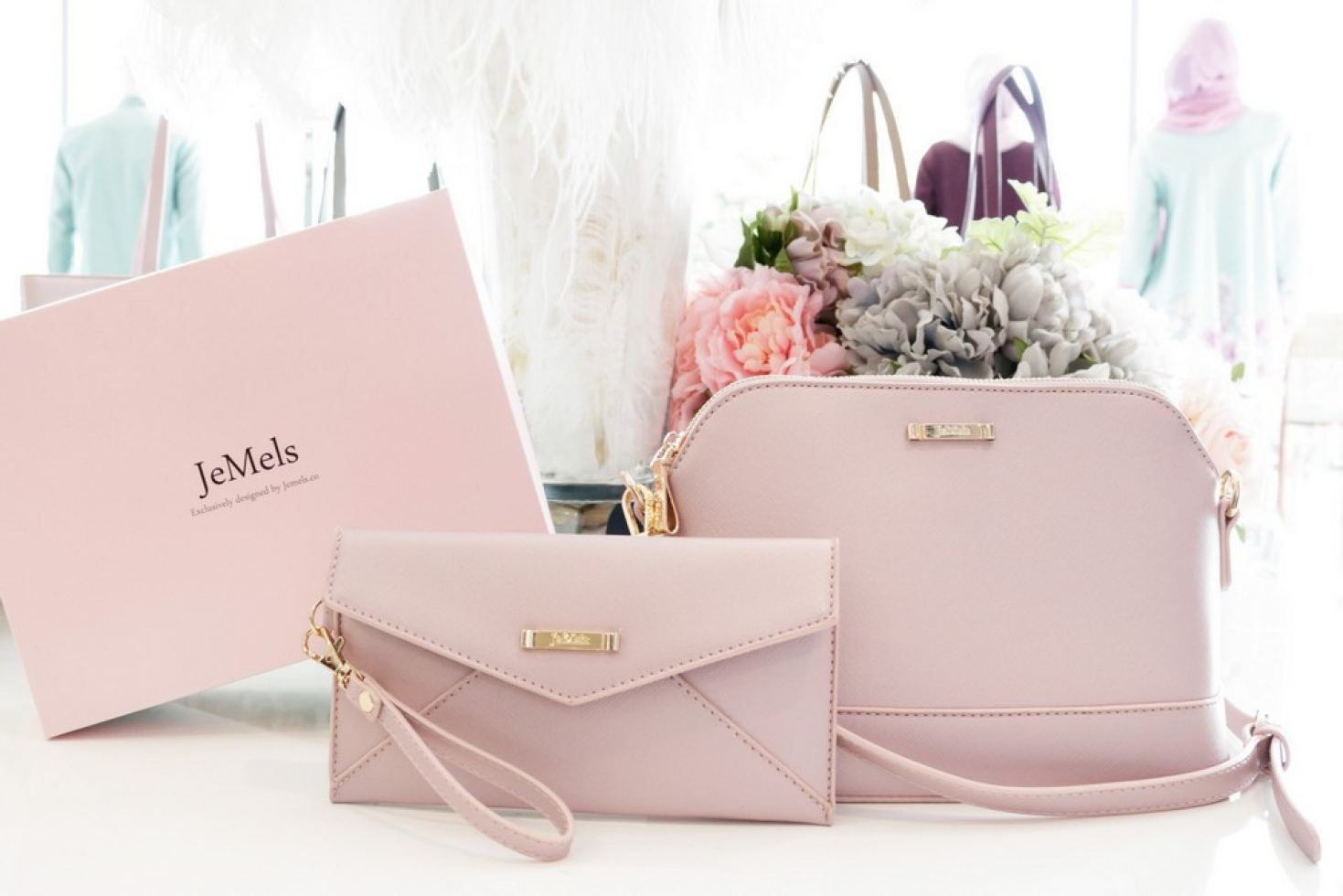JEMELS NEW DIONNE SLING - ROSE GOLD