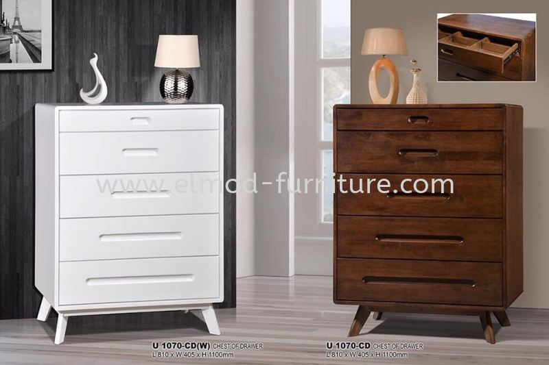 CDU-1070-CD Chest Of Drawer Bedroom Set Selangor, Kuala Lumpur (KL), Puchong, Malaysia Supplier, Suppliers, Supply, Supplies | Elmod Online Sdn Bhd