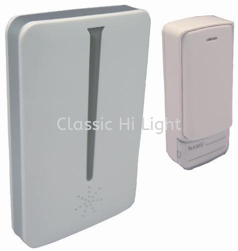 Yetplus A305 Kinetic Touch Digital Wireless Door Bell with LED Indicator Door Bell Kuala Lumpur (KL), Malaysia, Selangor, Damansara Supplier, Suppliers, Supply, Supplies | Classic Hi Light Sdn Bhd