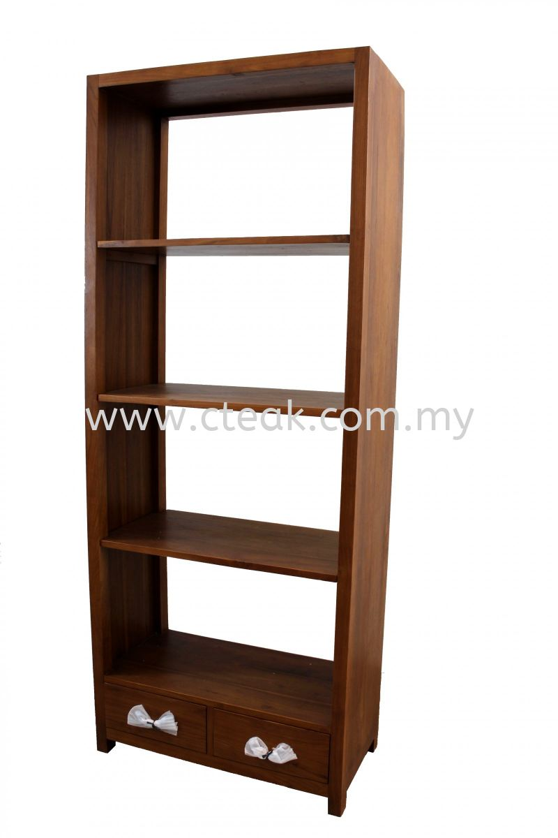 2 Drawers Bookcase