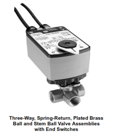 VG1000 Series-Three-Way Spring Return Without Switches Threaded Ball Valves and Actuators Valve and actuator Johnson Controls Selangor, Petaling Jaya (PJ), Malaysia, Kuala Lumpur (KL) Supplier, Suppliers, Supply, Supplies | JTJ Technology Sdn Bhd