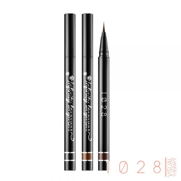 1028 Infinity Longwear Liquid Eyeliner-01 Black/02 Brown/03 Chocolate Eye Makeup 1028 Visual Therapy Selangor, Malaysia, Kuala Lumpur (KL), Klang Supplier, Suppliers, Supply, Supplies | Golden Corner Sdn Bhd