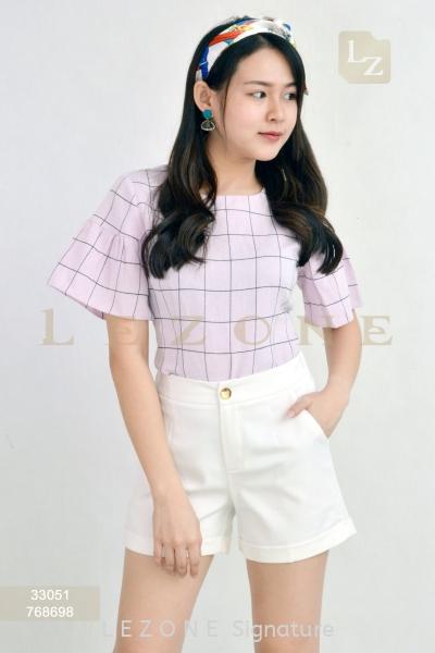 768698 Basic Short Pant 短裤 新款裤子/ 半裙    | LE ZONE Signature
