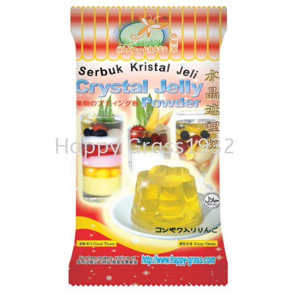 Crystal Jelly Powder With Green Apple Flavor Crystal Jelly Powder Jelly Powder Johor Bahru (JB), Malaysia, Pontian Supplier, Suppliers, Supply, Supplies | Happy Grass Products Sdn Bhd
