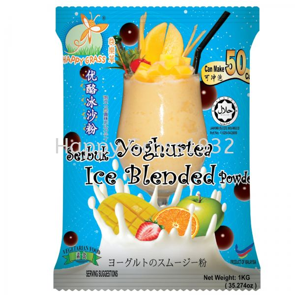 YOGHURTEA ICE BLENDED Beverages Johor Bahru, JB, Johor, Malaysia. Supplier, Suppliers, Supply, Supplies, Provider | Happy Grass Products Sdn Bhd