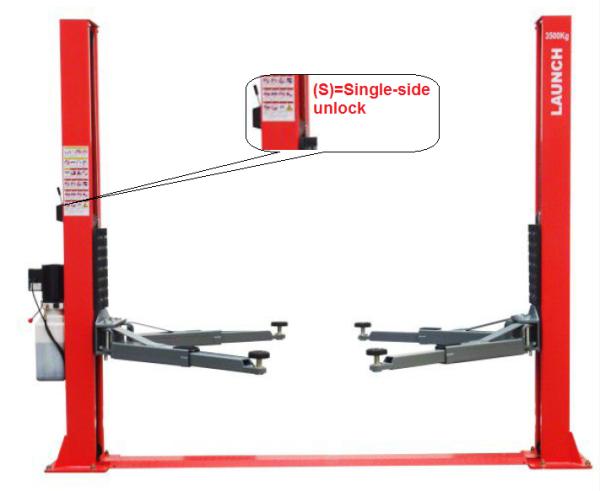 LAUNCH TLT240SB(S) Two-Post Lift Lift (LAUNCH) Selangor, Malaysia, Kuala Lumpur (KL), Seri Kembangan Supplier, Suppliers, Supply, Supplies | Beta Equipments Trading Sdn Bhd