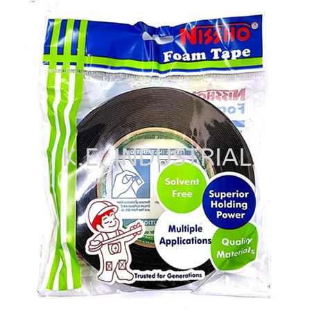 Nissho Double Sided Foam Tape Packaging Products Selangor, Klang, Malaysia, Kuala Lumpur (KL) Supplier, Suppliers, Supply, Supplies   K.E. Industrial Supply Sdn Bhd