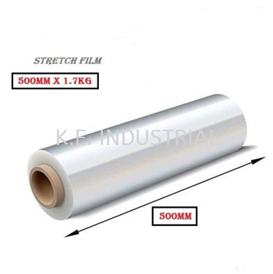 Stretch Film 1.7kg 500MM 2'' Packaging Products Selangor, Klang, Malaysia, Kuala Lumpur (KL) Supplier, Suppliers, Supply, Supplies   K.E. Industrial Supply Sdn Bhd