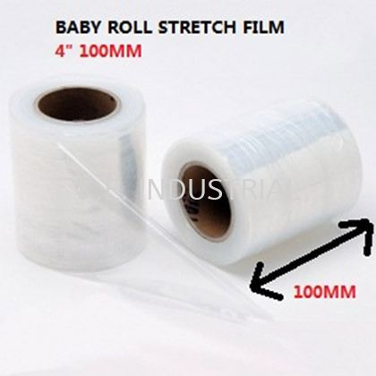 Baby Roll Stretch Film 100MM 4'' Packaging Products Selangor, Klang, Malaysia, Kuala Lumpur (KL) Supplier, Suppliers, Supply, Supplies | K.E. Industrial Supply Sdn Bhd