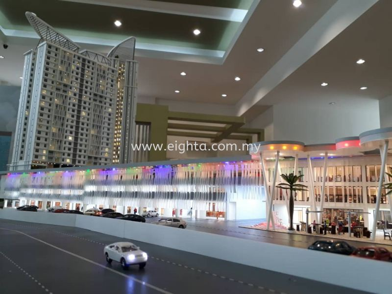 Hill Park Sunrise Manner Building Model Layout Malaysia, Penang Building, Model, Maker, Services | Eight A Model Sdn Bhd