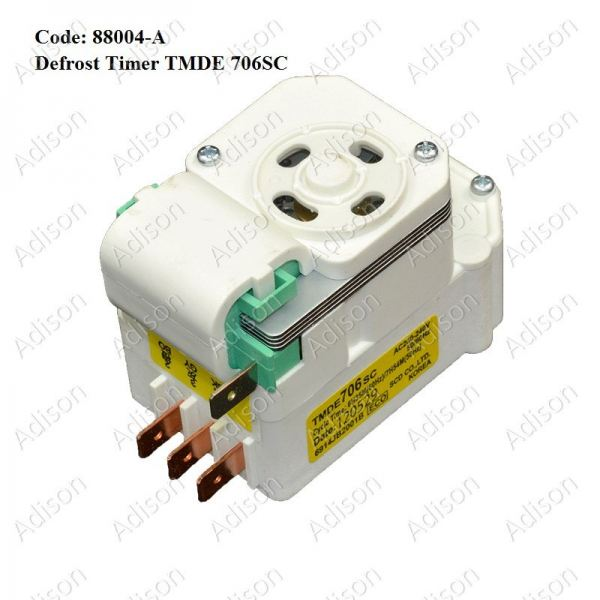 Code: 88004-A Defrost Timer TMDE 706SC Defrost Timer Refrigerator Parts Melaka, Malaysia Supplier, Wholesaler, Supply, Supplies | Adison Component Sdn Bhd