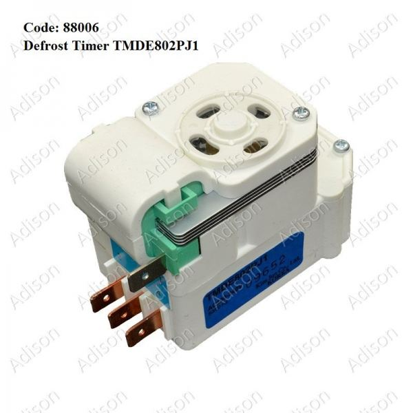 Code: 88006 TMDE 802PC1 Defrost Timer Defrost Timer Refrigerator Parts Melaka, Malaysia Supplier, Wholesaler, Supply, Supplies   Adison Component Sdn Bhd