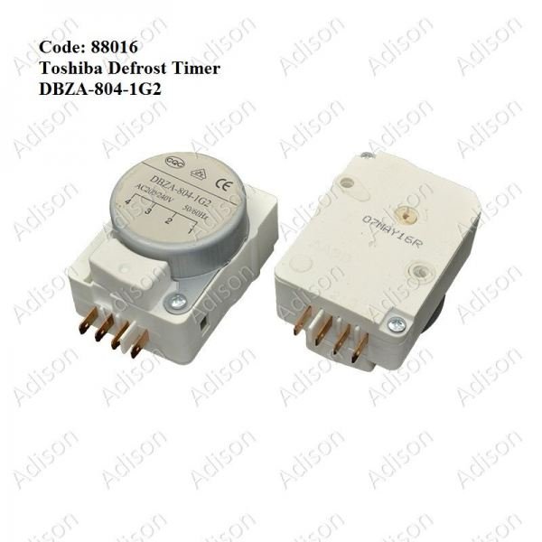 Code: 88016 DBZA-804-1G2 Defrost Timer Defrost Timer Refrigerator Parts Melaka, Malaysia Supplier, Wholesaler, Supply, Supplies | Adison Component Sdn Bhd