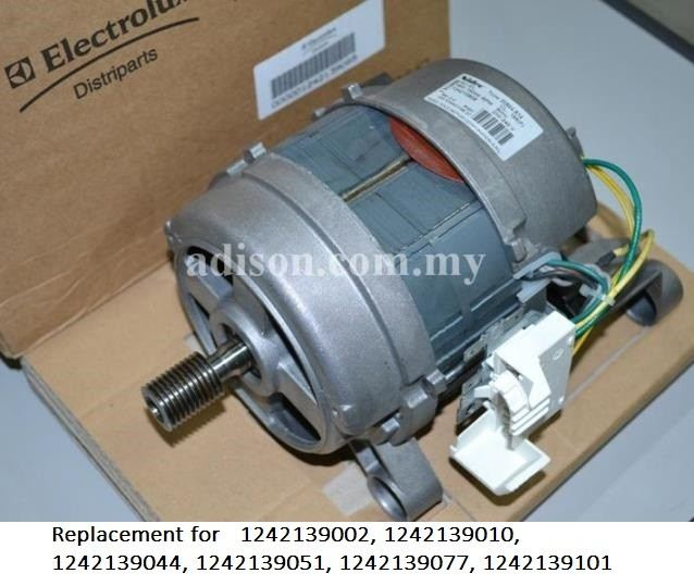 Code: 1242139085 Electrolux Motor 9 Wire Motor for Front Loading Washer / Dryer Washing Machine Parts Melaka, Malaysia Supplier, Wholesaler, Supply, Supplies | Adison Component Sdn Bhd