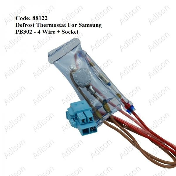 Code: 88122 Samsung Defrost Thermostat PB302 Defrost Thermostat Refrigerator Parts Melaka, Malaysia Supplier, Wholesaler, Supply, Supplies | Adison Component Sdn Bhd