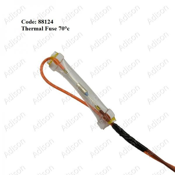 Code: 88124 Thermal Fuse 70'C Defrost Thermostat Refrigerator Parts Melaka, Malaysia Supplier, Wholesaler, Supply, Supplies | Adison Component Sdn Bhd