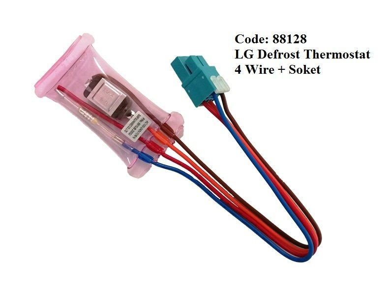Code: 88128 LG Defrost Thermostat 4 Wire Defrost Thermostat Refrigerator Parts Melaka, Malaysia Supplier, Wholesaler, Supply, Supplies   Adison Component Sdn Bhd