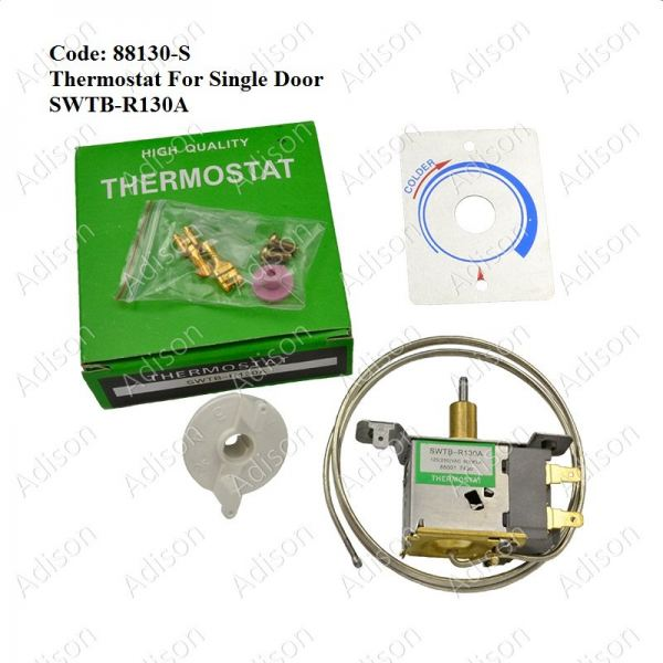 Code: 88130-S R-130A Thermostat for Single Door Defrost Thermostat Refrigerator Parts Melaka, Malaysia Supplier, Wholesaler, Supply, Supplies | Adison Component Sdn Bhd