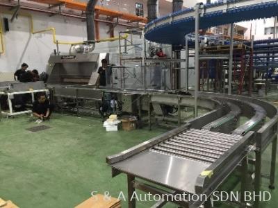 Chain curve conveyor